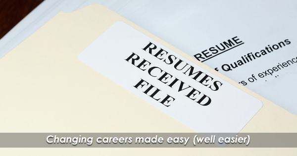The Career Transition Resume!