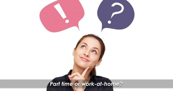 Part Time Or Work At Home