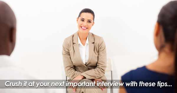 Will You Be The Chosen One? Nailing That Important Interview