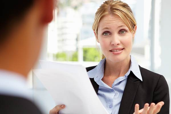 what not to do in a job interview