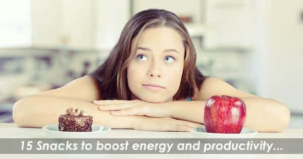 15 Snacks to Boost Energy and Productivity