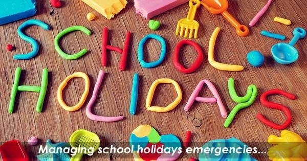 The 4:12 Disconnect – Tips for Covering School Holidays