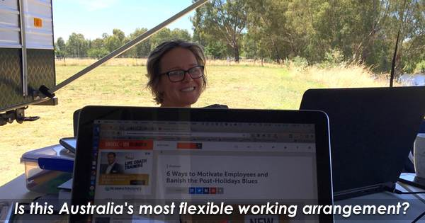 Is this Australia's most flexible working arrangement?