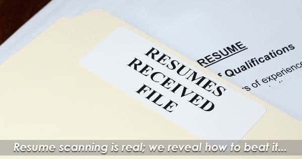 Resume Scanning: Every Second Counts