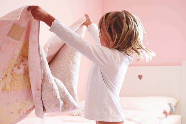 kids should make their bed