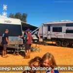 Keeping the work life balance when travelling around Australia